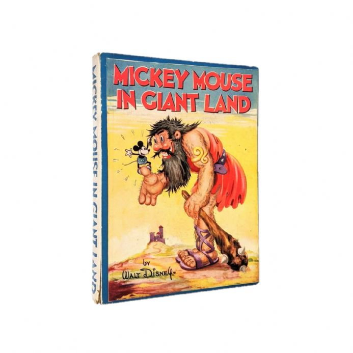 Mickey Mouse in Giant Land First Edition Collins 1934